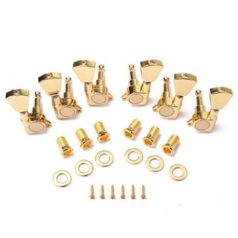 BolehDeals Guitar Tuning Pegs Keys Tuners Machine Heads for LP Electric Guitars-Gold - intl