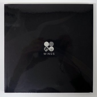 BTS BANGTAN BOYS - WINGS (Vol.2) [W version]CD+Photobook+Photocard+Folded Poster+Extra Photocards Set