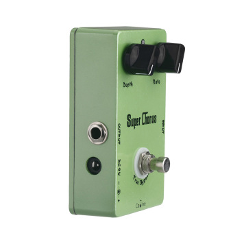 Caline CP-13 Super Chorus Guitar Effect Pedal Aluminum Alloy Housing Ture Bypass
