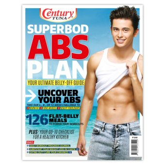 Century Tuna Superbod Abs Book - James Reid Cover
