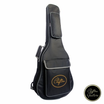 Clifton CBG-41 Padded Guitar Bag Gigbag (Black)