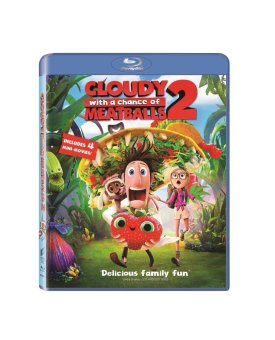 Cloudy with a Chance of Meatballs 2 Blu-ray (2013)