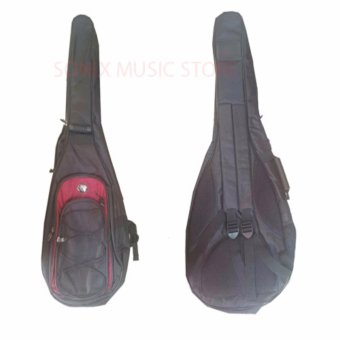 CNB Gig Bag for Electric Guitar Black/red