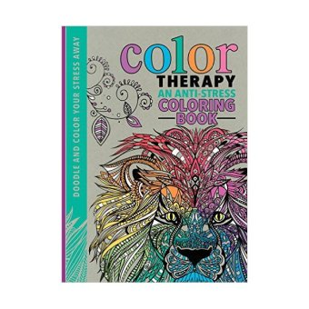 Color Therapy Anti Stress Coloring Book