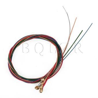 Copper AC50 1m 6 Strings Acoustic Guitar String Multicolor
