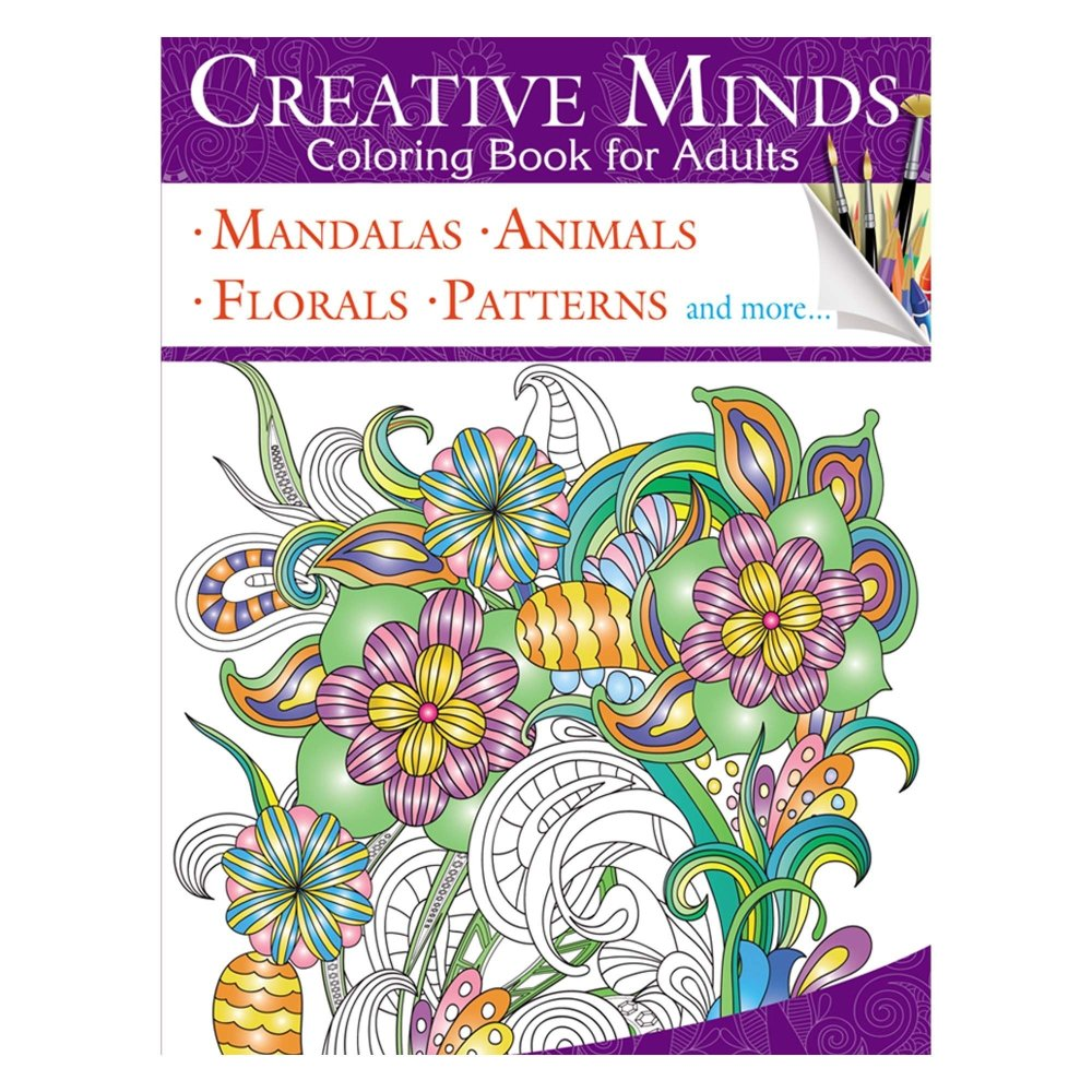 Creative Minds Coloring Books For Adults 3