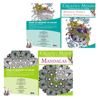 Creative Minds Coloring Books for Adults 5 & 6