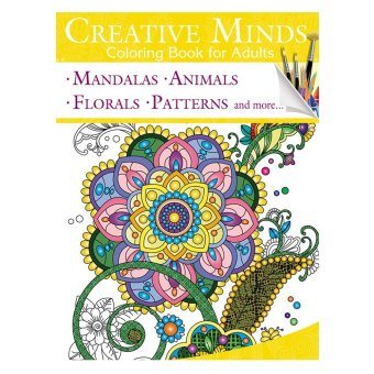 Creative Minds Coloring Books For Adults