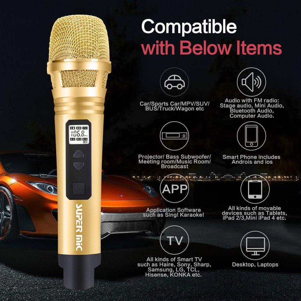 Philippines | Cxy Portable Car Wireless Karaoke Microphone- smart