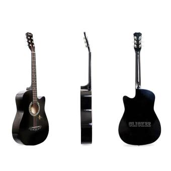 Davis Acoustic Guitar JG-38 Best Deals (Black)