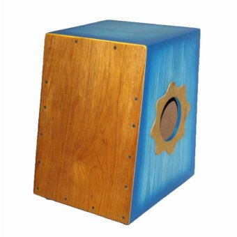 Davis Beat Box Cajon with Pickup (Blue)