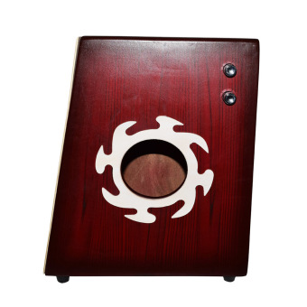 Davis Beat Box Cajon with Pickup With Bag (Maroon)