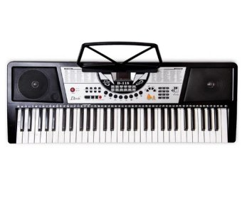 Davis D-118 Digital Electronic Keyboard (Black)