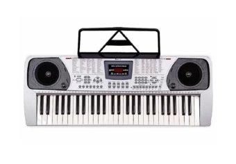Davis D-606 Electronic Keyboard (Silver)