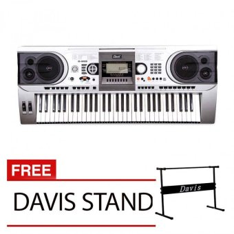 Davis D-955 Digital Piano with Free Davis Stand (Silver) Price Philippines