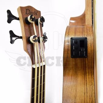 Davis DUK Best Deals Ukelele with Digital Tuner (Mahogany) - 3