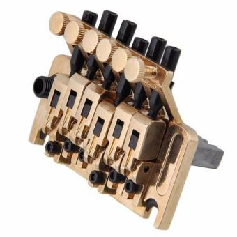 Davis Floyd Rose Lic Tremolo Bridge Double Locking System (Gold)