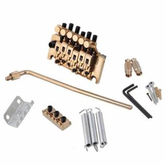 Davis Floyd Rose Lic Tremolo Bridge Double Locking System (Gold) - 2