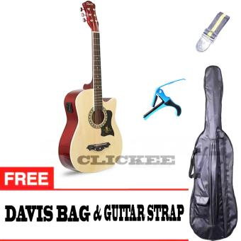 Davis JG-38 EQ2 Best Deals Traveller's Packaged (Natural)