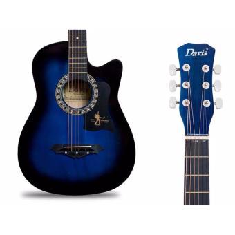 Davis JG38C Blue Acoustic Guitar - 2