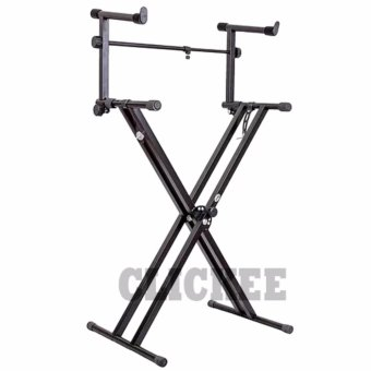 Davis Keyboard Stand X2 with Extension (Black) Price Philippines