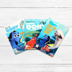 Easy To Learn Books Disney Finding Dory 3 Piece Coloring Book Set