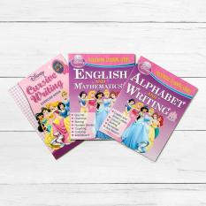 Easy To Learn Books Disney Princess 3 Piece Preschool Learning Series Activity Book Set
