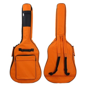 FFY Thick Guitar Oxford Bag 41 Inch Ball Guitar Bag Backpack PlusCotton Fen Da Guitar Package - intl Price Philippines