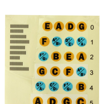 Fretboard Note Labels Fret Stickers For Acoustic Electric Guitar