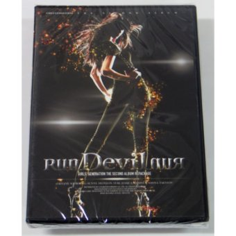 GIRLS' GENERATION - Run Devil Run (Vol.2 Repackage) CD+FoldedPoster+Free Gift