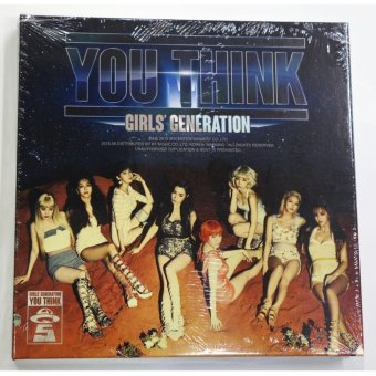 GIRLS' GENERATION - You Think (Vol. 5) CD+Folded Poster+Free Gift