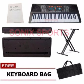 Global GL-700 Electronic Keyboard Piano with Double X KeyboardStand and Case Price Philippines