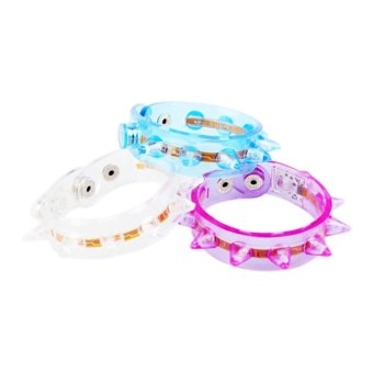 Glow Funny Flash Bracelet Fluorescent Color Changing For Party Eight Lamp - Intl