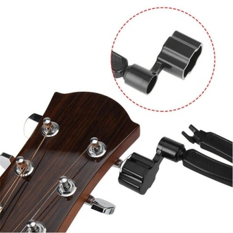 GOOD 3 in 1 Guitar String Forceps Planet Waves String Winder And Cutter Pin Puller Black - intl - 5