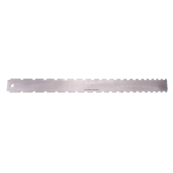 Guitar Neck Notched Straight Edge Luthiers Tool Guitar Fingerboard Ruler - intl