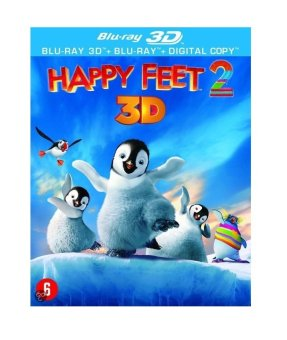 Happy Feet 2 2D and 3D Blu-ray