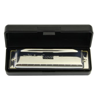 Harmonica 10 Holes Key of C for Blues Rock Jazz Folk Harmonicas