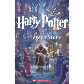 Harry Potter and the Sorcerer's Stone (Book 1) - Paperback - intl Price Philippines