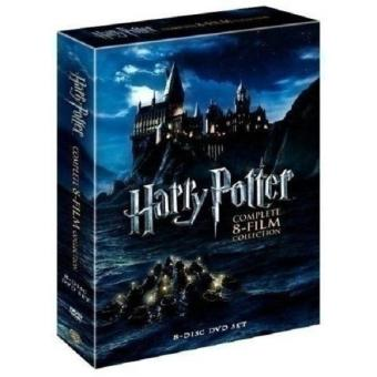 Harry Potter - Complete 8-Film Collection DVD, 2011, 8-Disc Box Set - intl