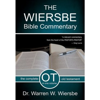 The Wiersbe Bible Commentary - Old Testament Price Philippines