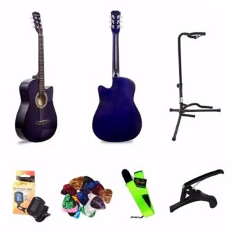 Arena 38 Inch Acoustic Guitar For Beginner Violet Color Package Price Philippines