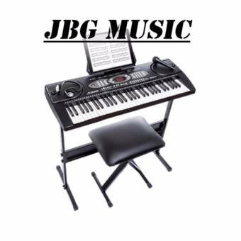 Harga Alesis Melody 61 Keys keyboard w/ bench & stand
