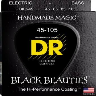 Dr Strings Bass Strings- Black Beauties - Extra-Life- Black-Coated Price Philippines