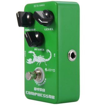 Harga JOYO JF - 10 True Bypass Design Dynamic Compressor Electric Guitar Effect Pedal