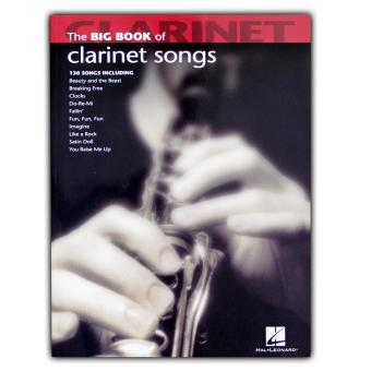 Music Book: The Big Book of Clarinet Songs Price Philippines