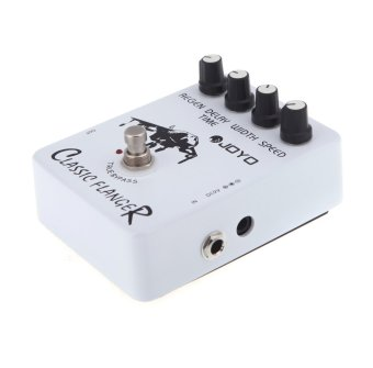 Harga JF-07 Classic Flanger Guitar Effect Pedal with True Bypass Design - Intl