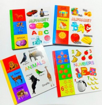 Beginners Alphabet with Animals Book Bundle and Numbers Book Price Philippines