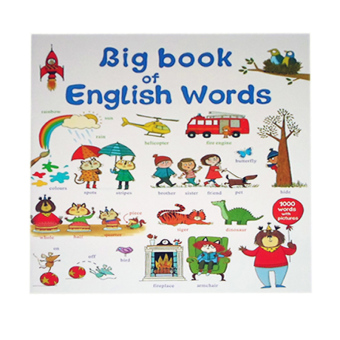 Big Book of English Words Educational Book for Kids Price Philippines