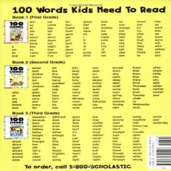 Harga 100 Words Kids Need To Read By 1St Grade: Sight Word Practice To Build Strong Readers