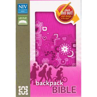 NIV Backpack Bible - Raspberry Price Philippines